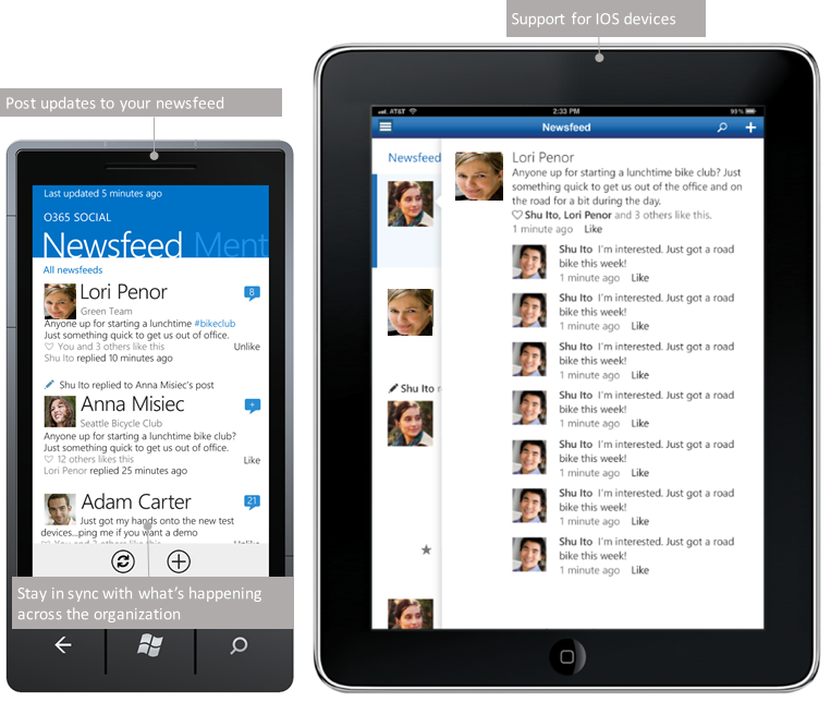 SharePoint 2013 mobile